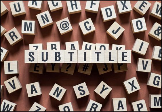 Subtitling